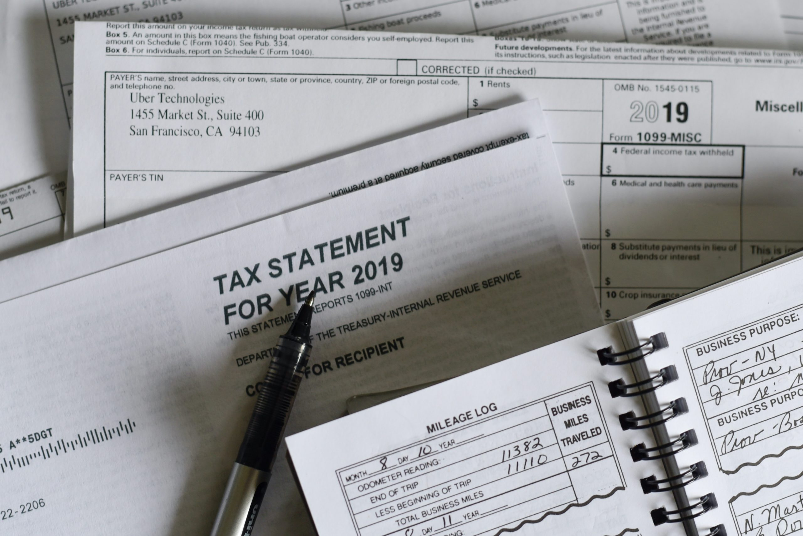 filing taxes as an independent contractor